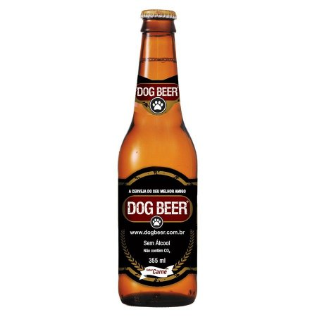Dogbeer - Cerveja Para Cachorro Sabor Carne - 355ml