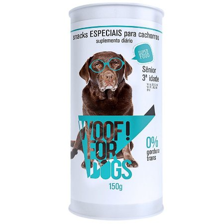 WOOF FOR DOGS SENIOR 3 IDADE 150 G