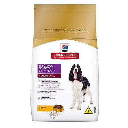 Ração para Cães Adultos de Estômago Sensível - Hill's
