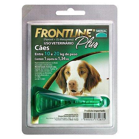 Frontline Plus Cães 10 a 20kg