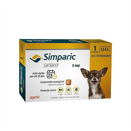 Anti-pulgas Simparic para Cachorro