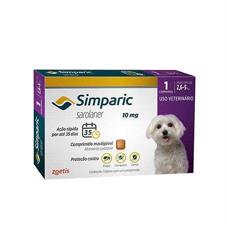 Anti-pulgas Simparic para Cães