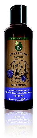 PetLab Extractos - Shampoo Neutro para Cães - Lavanda - 300 ml