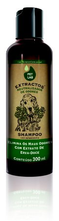PetLab Shampoo para Cães Neutralizador Odores Erva Doce