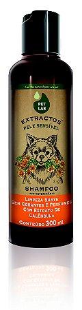 PetLab Shampoo para Cães com Pele Sensível Calêndula