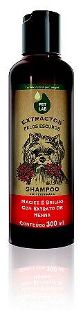 PetLab Shampoo para Cães com Pelos Escuros Henna
