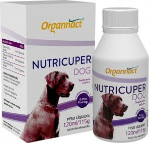 Organnact Nutricuper Dog 120ml