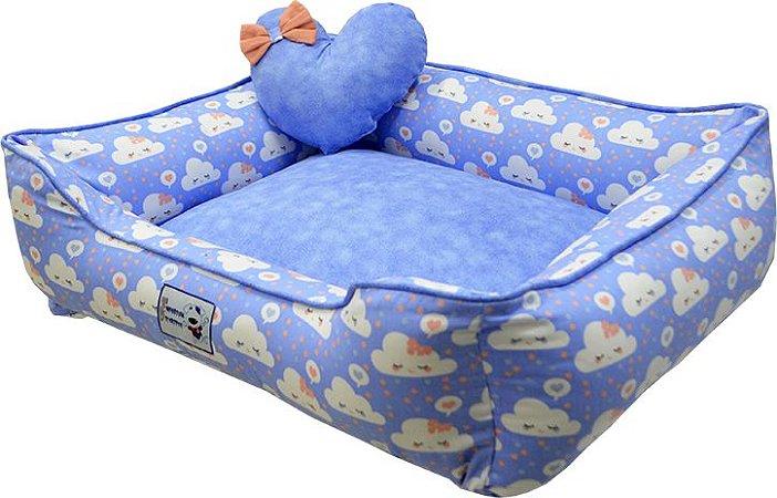 Cama Ariel Azul Médio