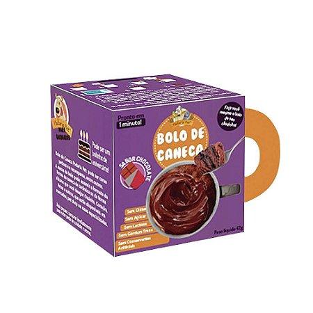 BOLO DE CANECA SABOR CHOCOLATE