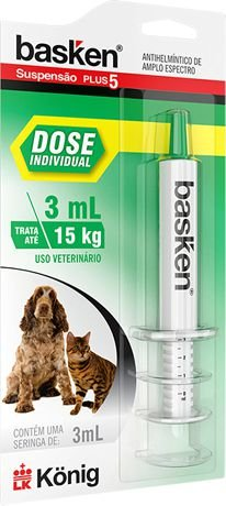 BASKEN SUSPENSAO DOSE INDIVIDUAL 3 ML
