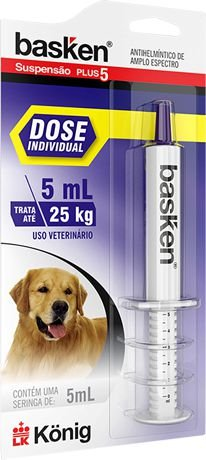 BASKEN SUSPENSAO DOSE INDIVIDUAL 5 ML