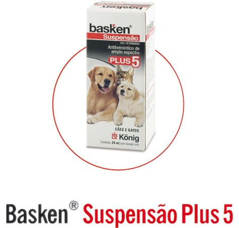 BASKEN SUSPENSAO PLUS 5 20 ML