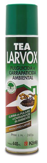 Antipulgas e carrapatos para o ambiente TEA LARVOX Konig