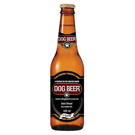 Dogbeer cerveja p/ cachorro sabor carne - 355ml - 5 unidades