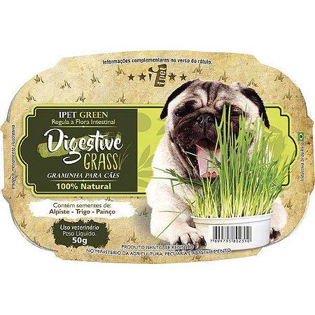 Graminha Ipet Green Digestive Grass para cães
