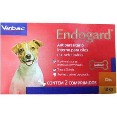 Vermífugo Virbac Endogard para Cães até 10 Kg