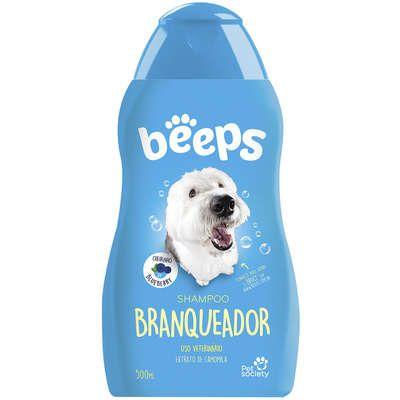 Shampoo Pet Society Beeps Branqueador 500ml
