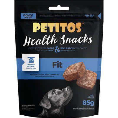 Petisco Petitos Health Snacks Fit Sabor Carne para Cães