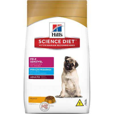 Ração Hills SD Adulto Pele Sensível Pedaços Pequenos 2.5kg