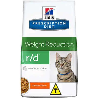 Ração Hills Feline Prescription Diet R/D Perda de Peso - 1.81kg