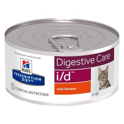 Ração Hills Feline Prescription Diet I/D - Lata 82g