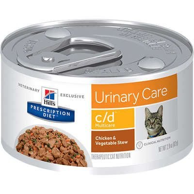Ração Hills Feline Multicare Prescription Diet C/D - Lata 82g