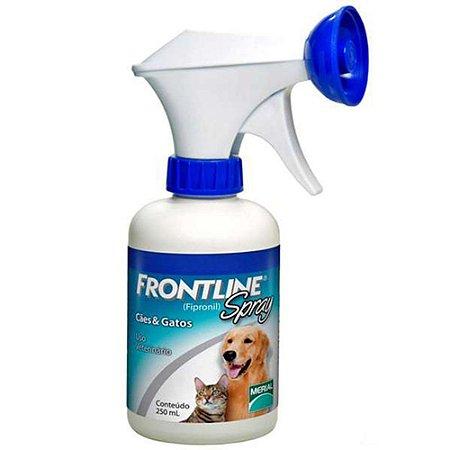 Antipulgas e Carrapatos Frontline Spray para Cães e Gatos 250ml