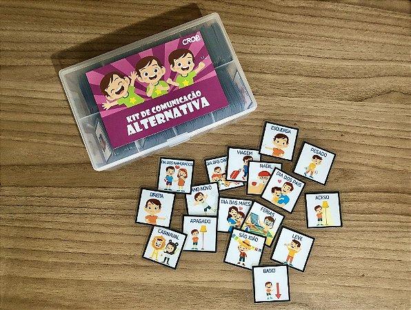 Kit de Comunicação Alternativa 500 peças!