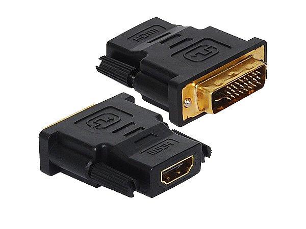 Adaptador DVI M para HDMI F