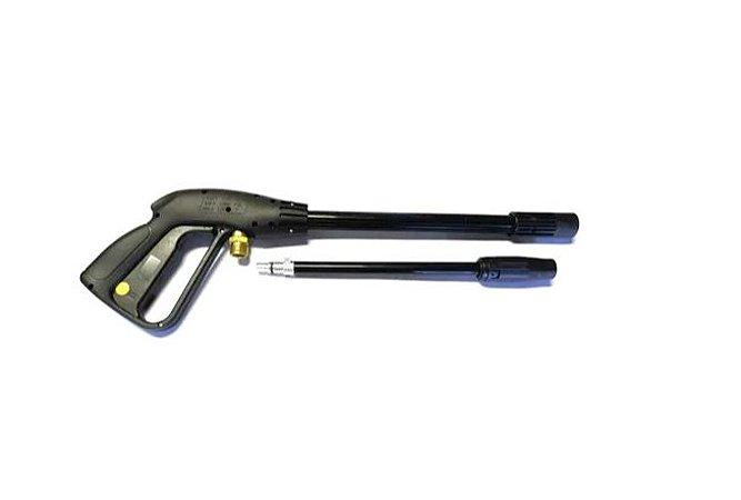 Kit Pistola + Lança E Válvula By Pass Wap Premium