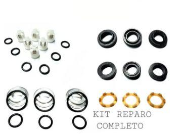 Kit Rolamento 6302 + Retentor + Vedação Completo e Pistões Wap Bravo
