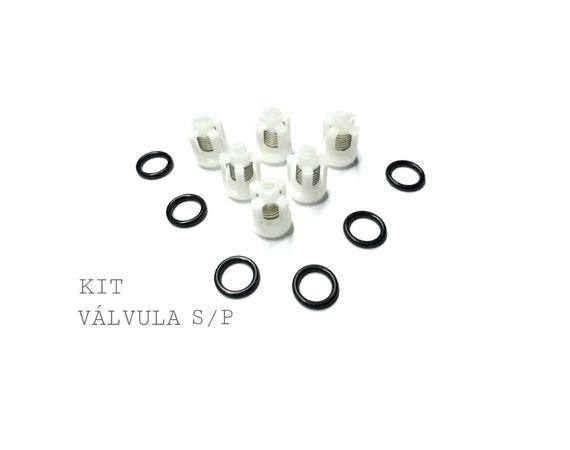 Kit Reparo Cmplt Válvula+vedação+kit Pistão Wap Val/brav/exc