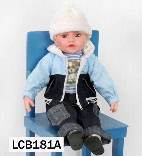 Boneca Importada Little Children 181A menino
