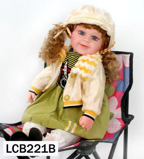 Boneca Importada Little Children 221B menina