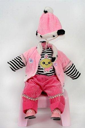 Roupinha Boneca Little Children 184B menina