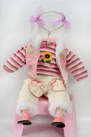 Roupinha Boneca Little Children 194B menina