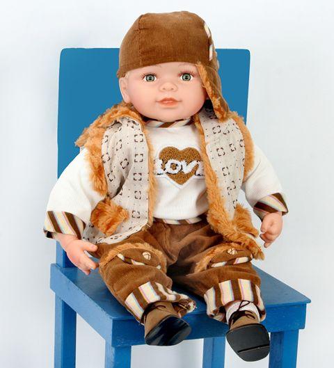 Boneca Importada Little Children 060D menino