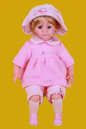 Boneca Importada Little Children 595 menina