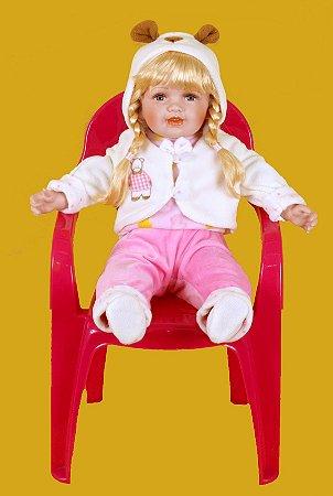 Boneca Importada Little Children PORCELANA 144A menina