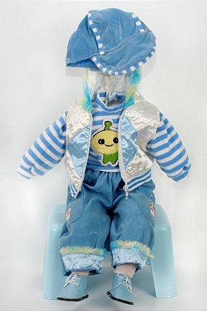 Roupinha Boneca Little Children menino 222A