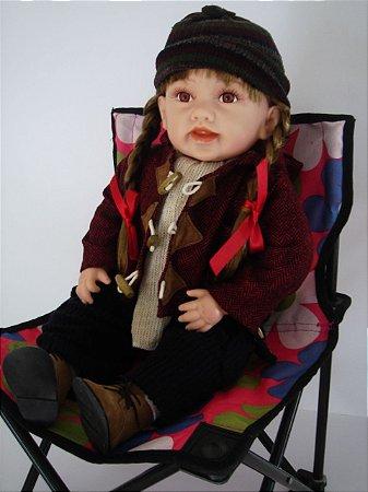Boneca Importada Little Children 789 menina