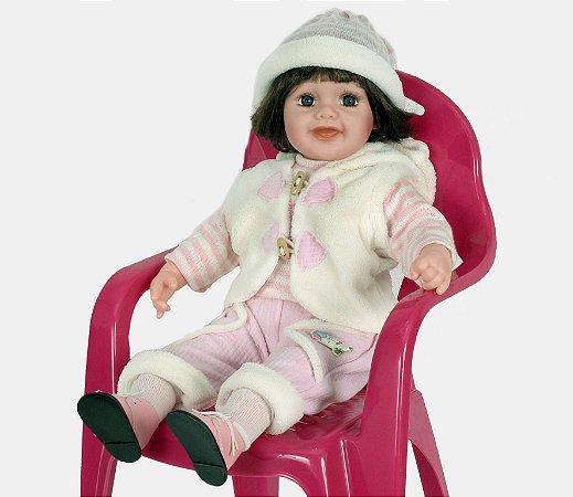 Boneca Importada Little Children 600J menina