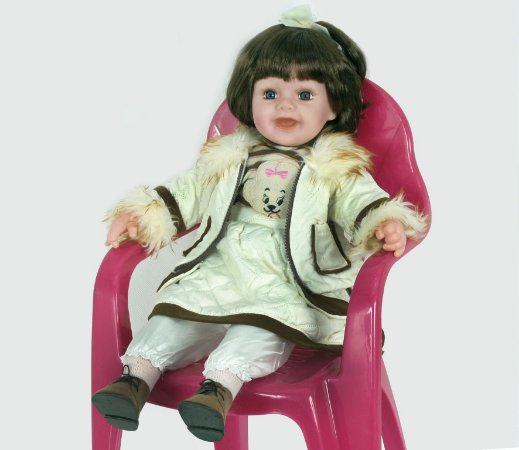 Boneca Importada Little Children 600P menina