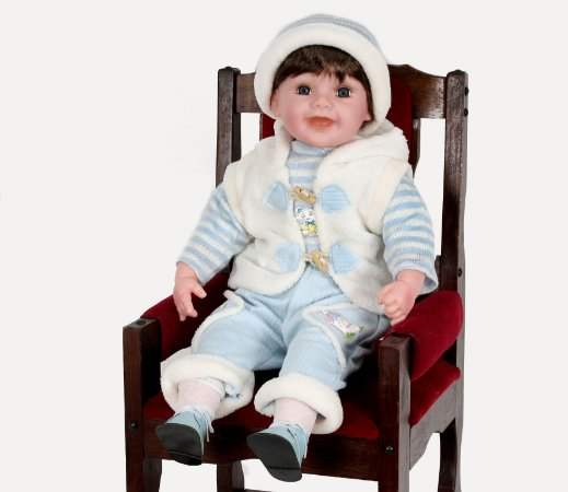 Boneca Importada Little Children 601V menino