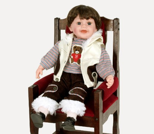 Boneca Importada Little Children 601W menino
