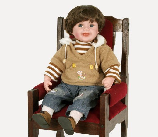 Boneca Importada Little Children 601Y menino