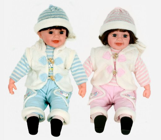 Boneca Importada Little Children 600J601V  CASAL
