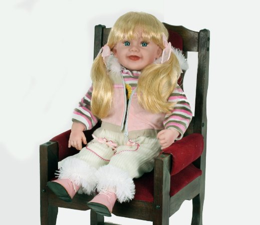 Boneca Importada Little Children 027H menina
