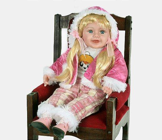 Boneca Importada Little Children 027K menina