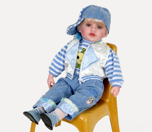 Boneca Importada Little Children 181C menino